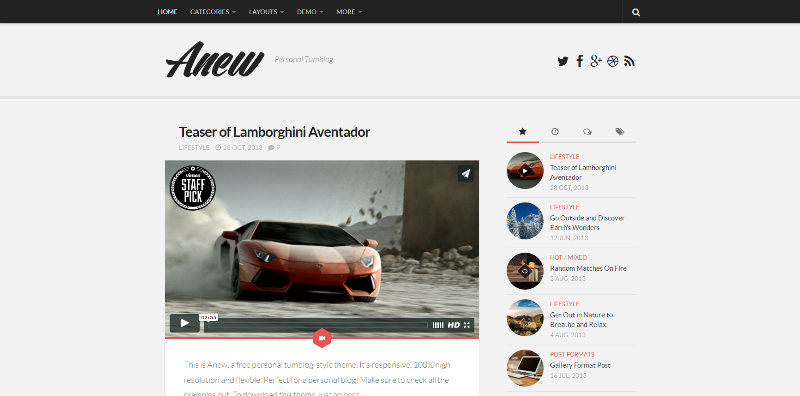 FireShot Screen Capture #004 - 'Anew - Personal Tumblog_' - demo_alxmedia_se_anew